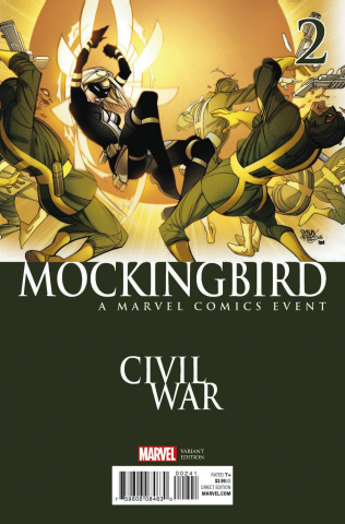 Mockingbird #2 (Ferry Civil War Cover)