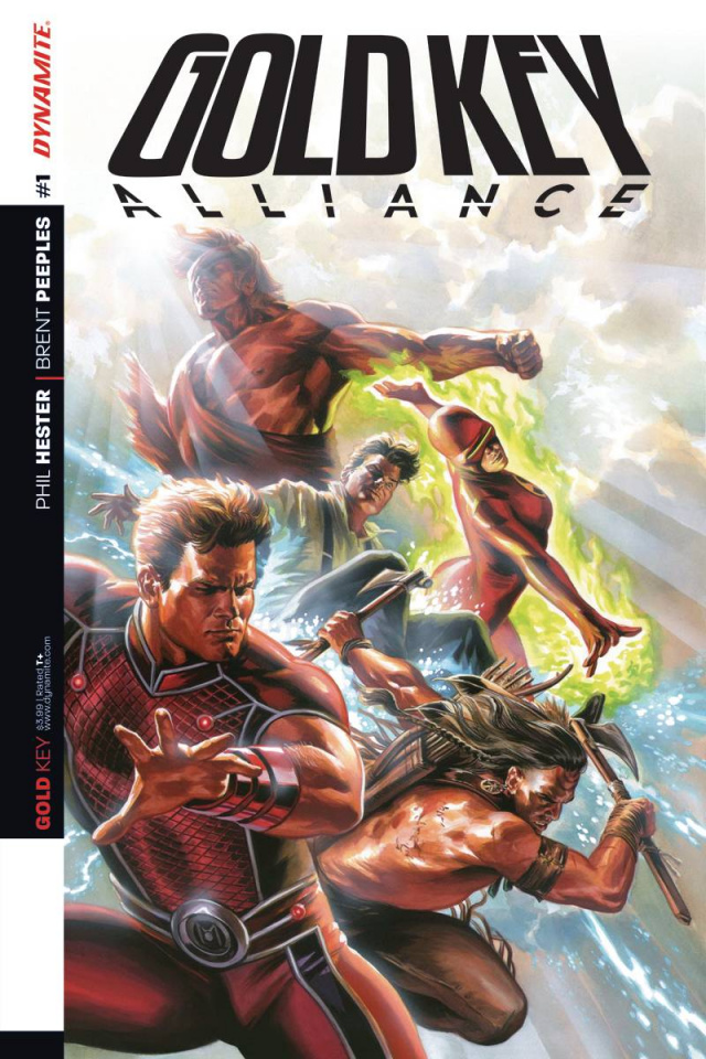 Gold Key Alliance #1 (Massafera Cover)
