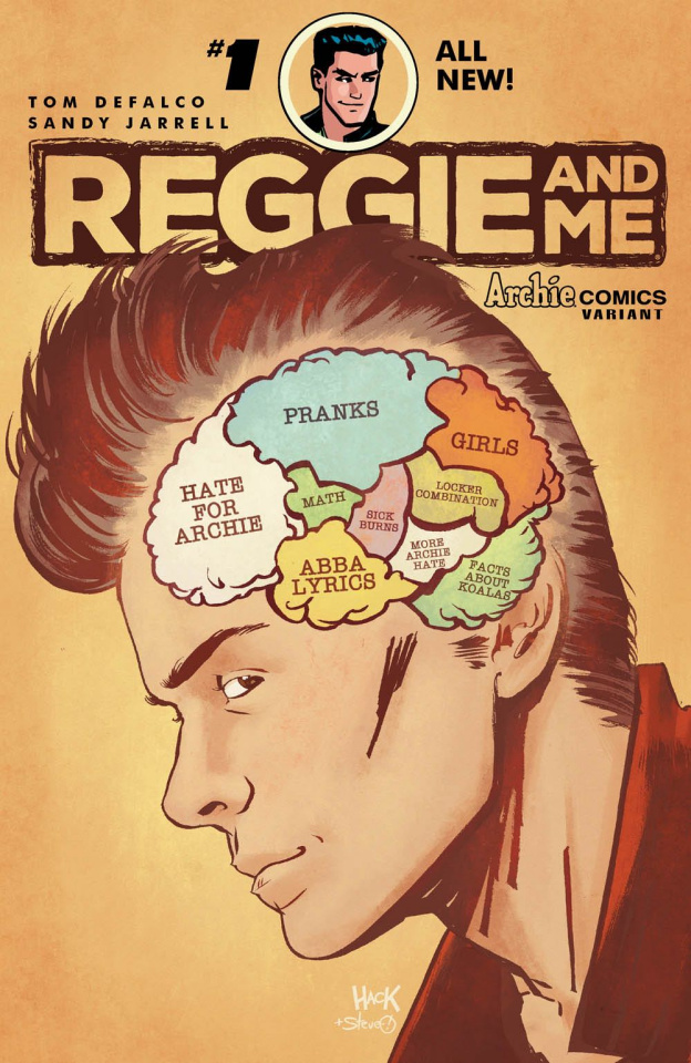 Reggie and Me #1 (Hack Cover)