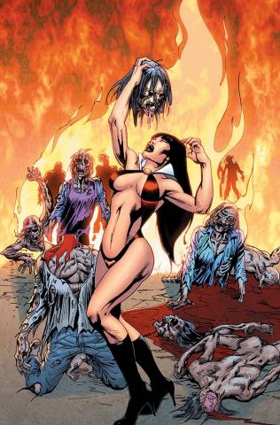 Vengeance of Vampirella #14 (15 Copy Castro Virgin Cover)