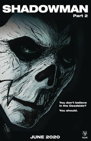 Shadowman #2 (Francavilla Cover)