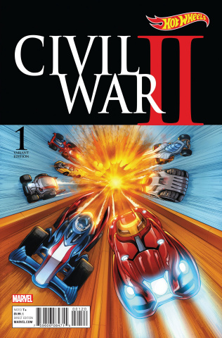 Civil War II #1 (Hot Wheels Cover)
