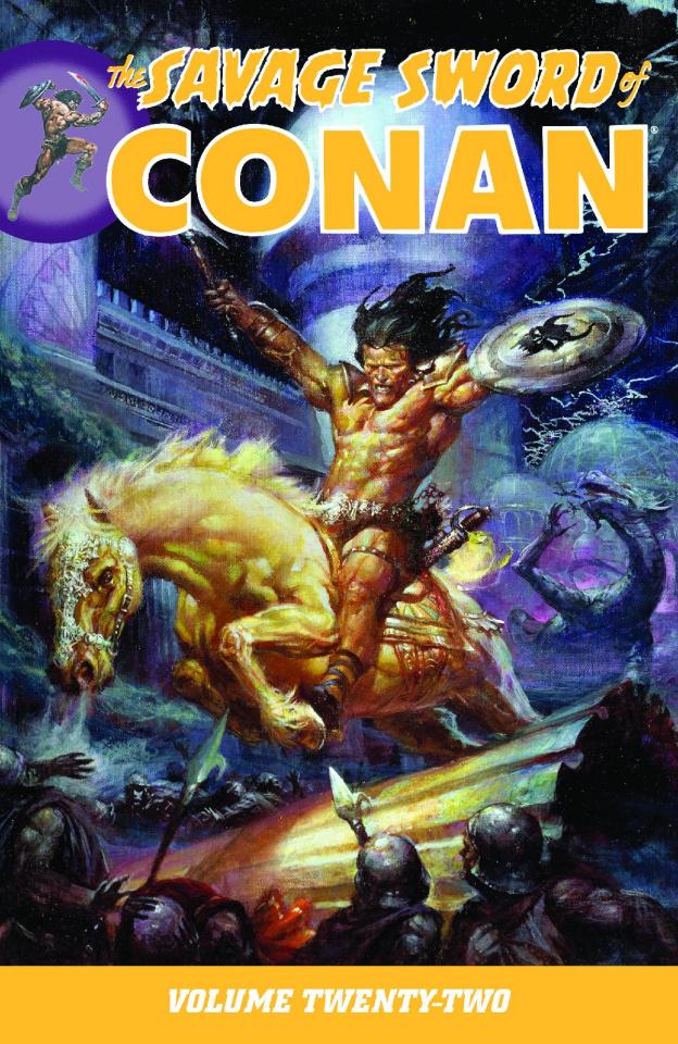 The Savage Sword of Conan Vol. 22
