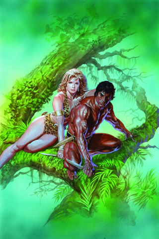 Lords of the Jungle #1 (Rare Ross Virgin Art Cover)