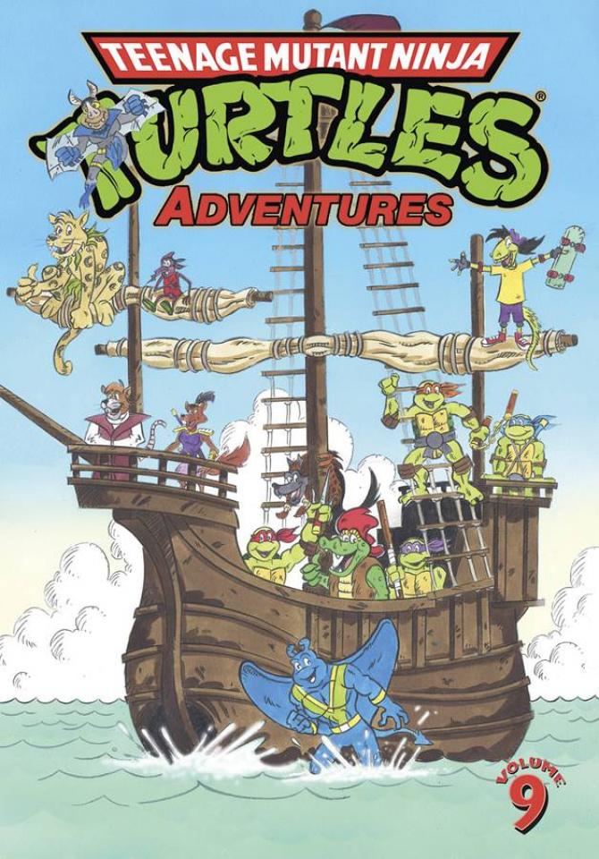 Teenage Mutant Ninja Turtles Adventures Vol. 9