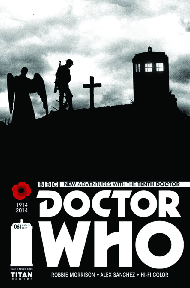 Doctor Who: New Adventures with the Tenth Doctor #6 (10 Copy Song of Birds Cover)