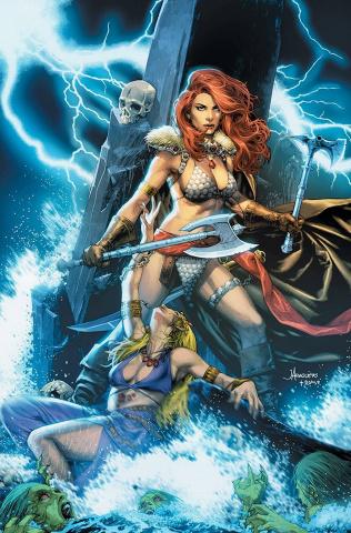 Red Sonja #2 (Anacleto Virgin Cover)