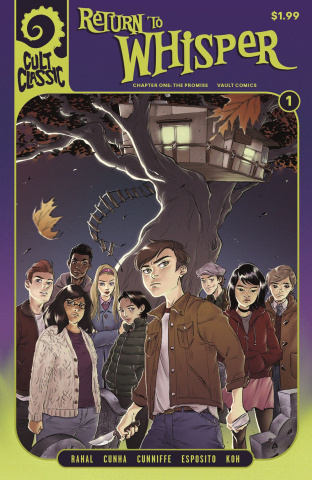 Return of the Graveyard Gang #1 (Koh Cover)