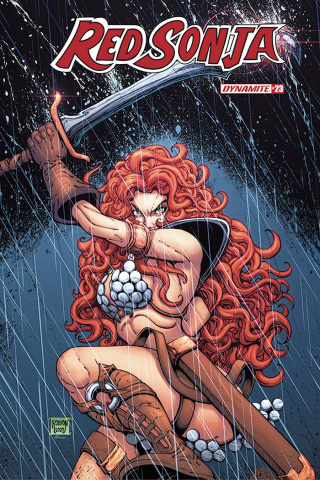 Red Sonja #23 (Robson Cover)