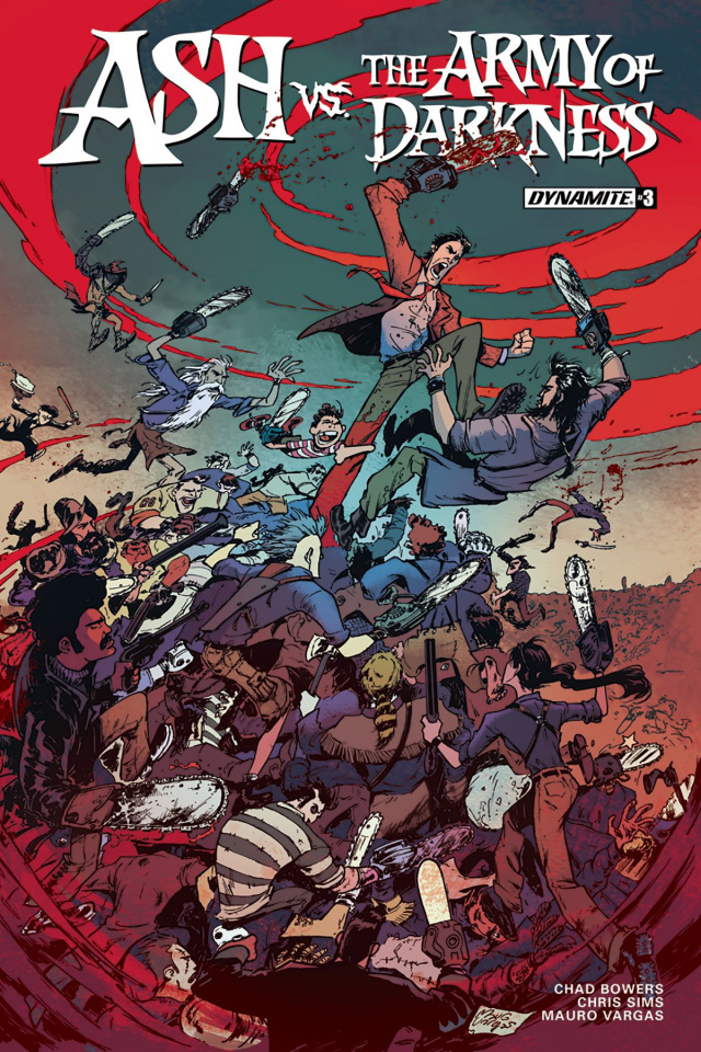 Ash vs. The Army of Darkness #3 (Vargas Cover)