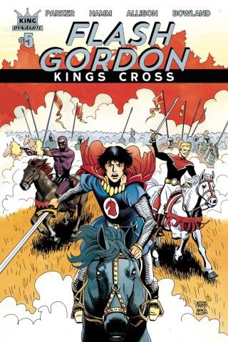 Flash Gordon: Kings Cross #5 (Hamm Cover)