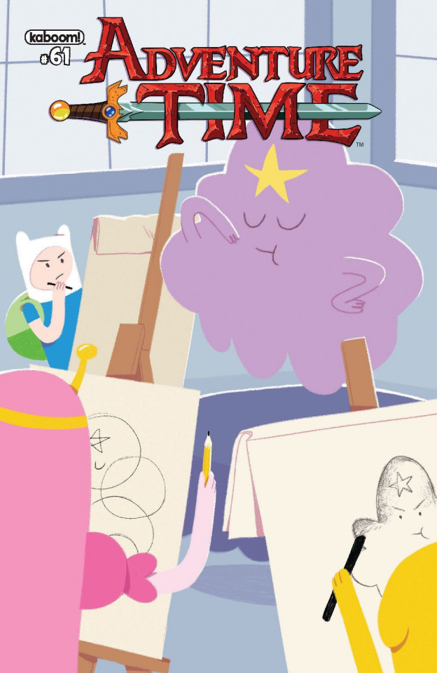 Adventure Time #61 (Subscription Lux Cover)