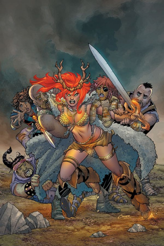 Red Sonja #6 (Conner Virgin Cover)