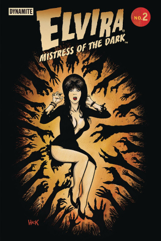 Elvira: Mistress of the Dark #2 (Hack Cover)