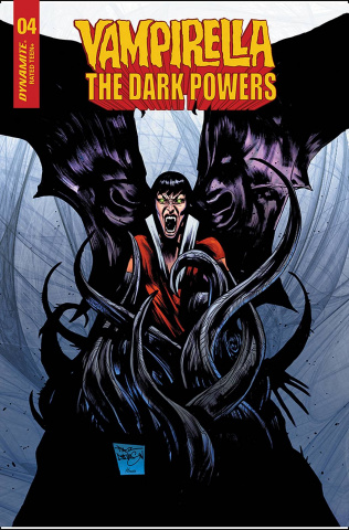 Vampirella: The Dark Powers #4 (15 Copy Davidson Cover)