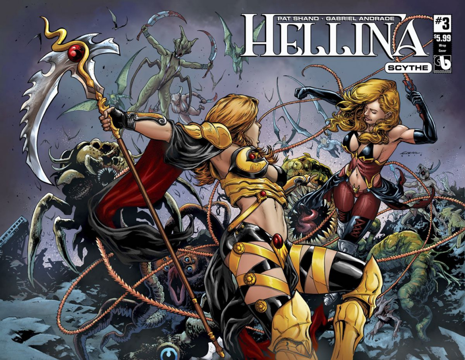 Hellina: Scythe #3 (Wrap Cover)