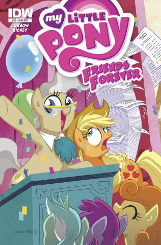 My Little Pony: Friends Forever #15 (Subscription Cover)