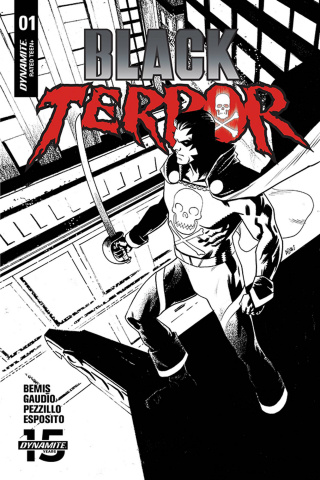 Black Terror #1 (30 Copy Gorham B&W Cover)