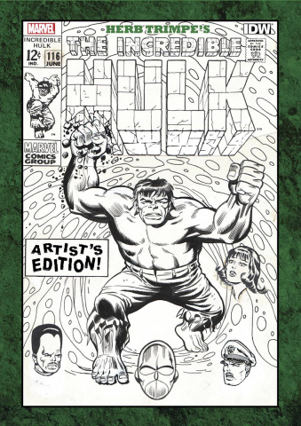 The Incredible Hulk Artist's Edition