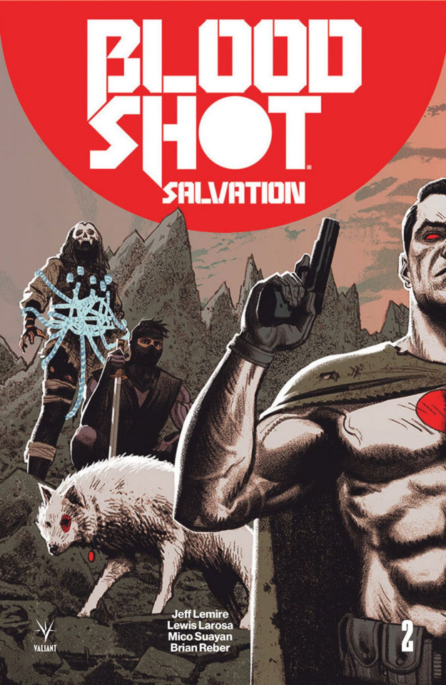 Bloodshot: Salvation #2 (20 Copy Interlock Cover)