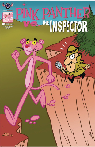Pink Panther vs. The Inspector #1 (Classic Pink Cover)
