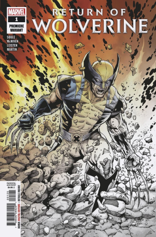 Return of Wolverine #1 (McNiven Premiere Cover)