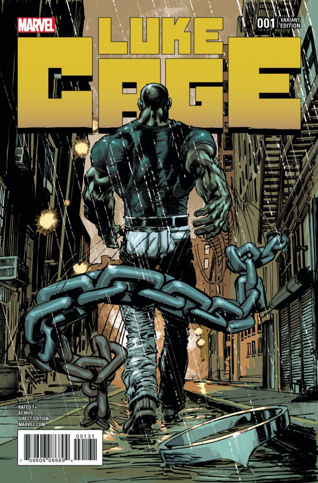 Luke Cage #1 (Adams Cover)