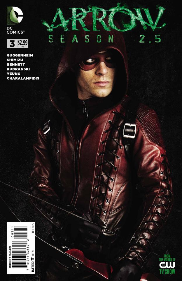 Arrow, Season 2.5 #3