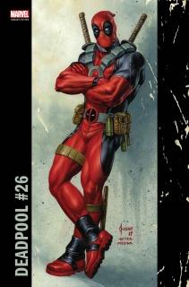 Deadpool #26 (Jusko Corner Box Cover)