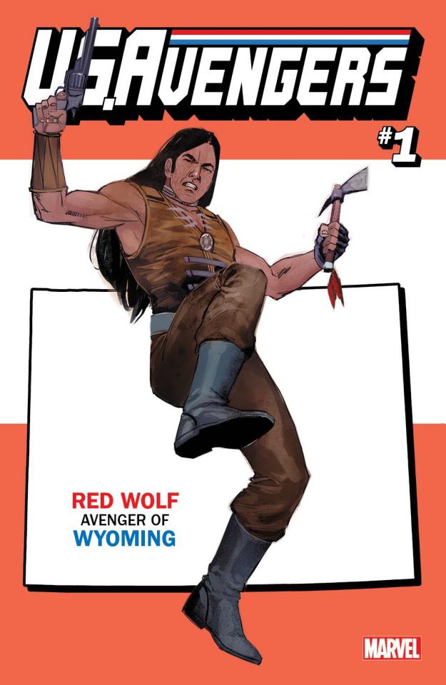 U.S.Avengers #1 (Reis Wyoming State Cover)