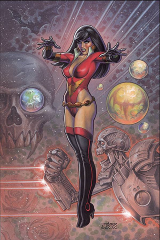 Vampirella: The Dark Powers #1 (Linsner Virgin Cover)