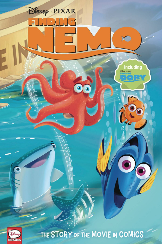 Finding Nemo / Dory: The Story of the Movie in Comics