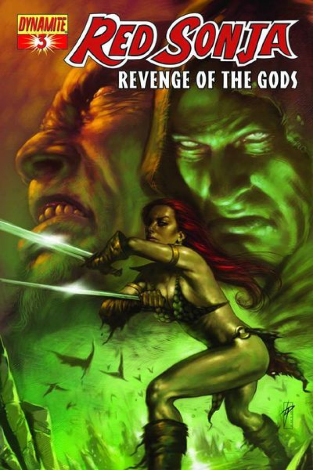 Red Sonja: Revenge of the Gods #3