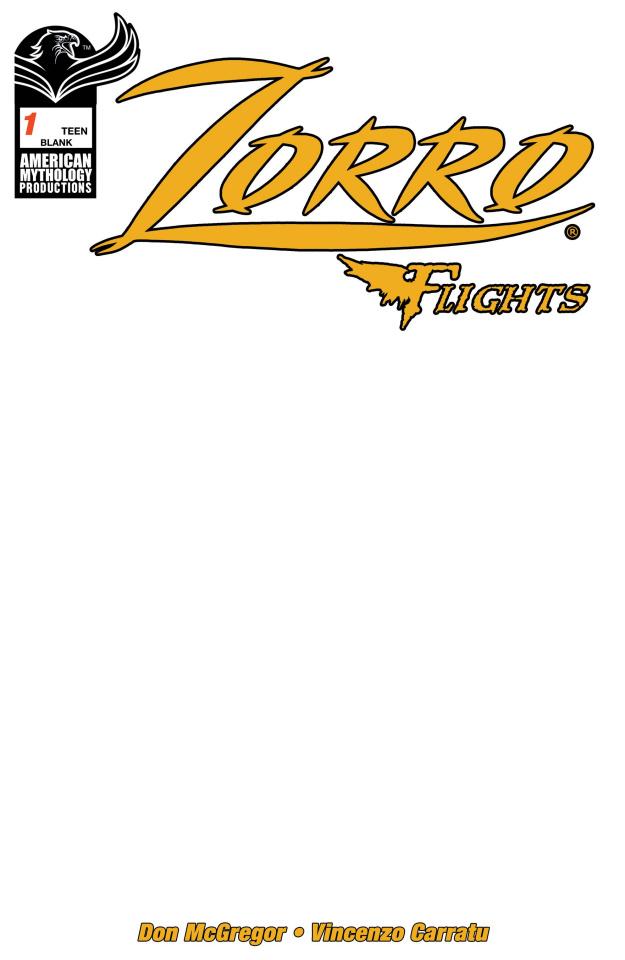 Zorro: Flights #1 (Blank Sketch Cover)