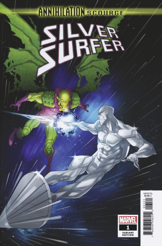 Annihilation: Scourge - Silver Surfer #1 (Yildrim Cover)