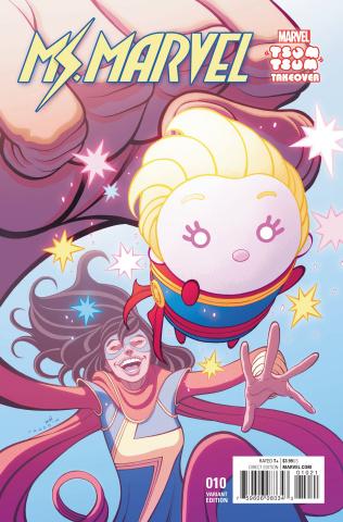 Ms. Marvel #10 (Moore Tsum Tsum Cover)
