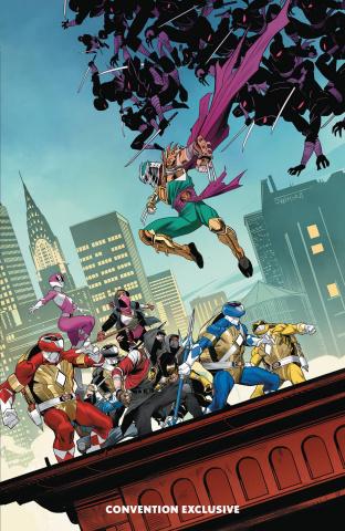 Mighty Morphin' Power Rangers / Teenage Mutant Ninja Turtles (TMNT Limited Edition)