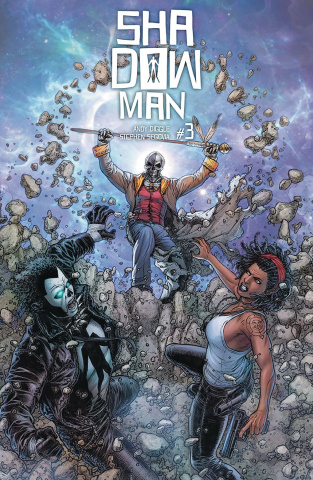 Shadowman #3 (20 Copy Interlocking Ryp Cover)