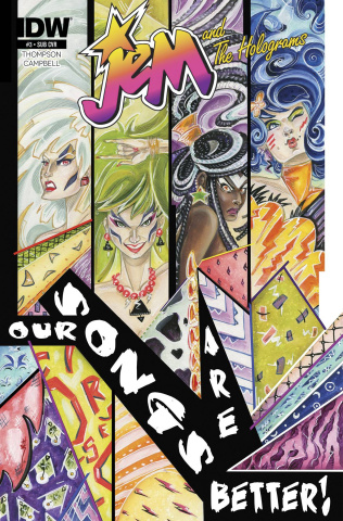 Jem and The Holograms #3 (Subscription Cover)