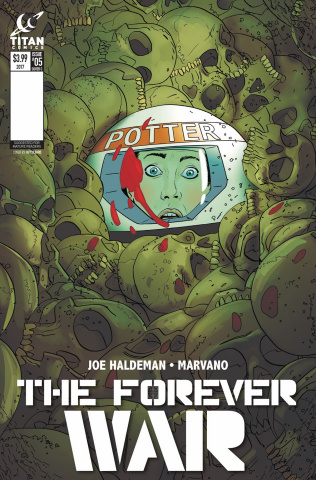 The Forever War #5 (Culbard Cover)