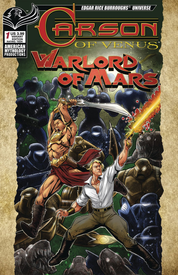 Carson of Venus / Warlord of Mars #1 (Warriors Mesarcia Cover)