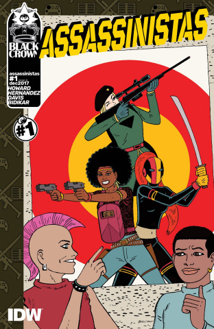 Assassinistas #1 (Hernandez Cover)