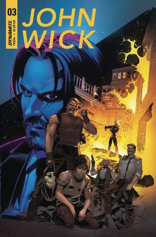 John Wick #3 (Valletta Cover)