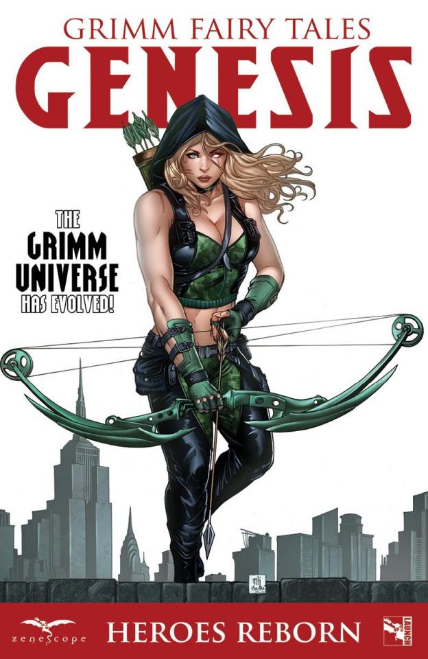Grimm Fairy Tales: Genesis - Heroes Reborn (Riveiro Cover)