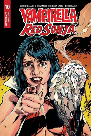 Vampirella / Red Sonja #10 (7 Copy Mooney Homage Cover)