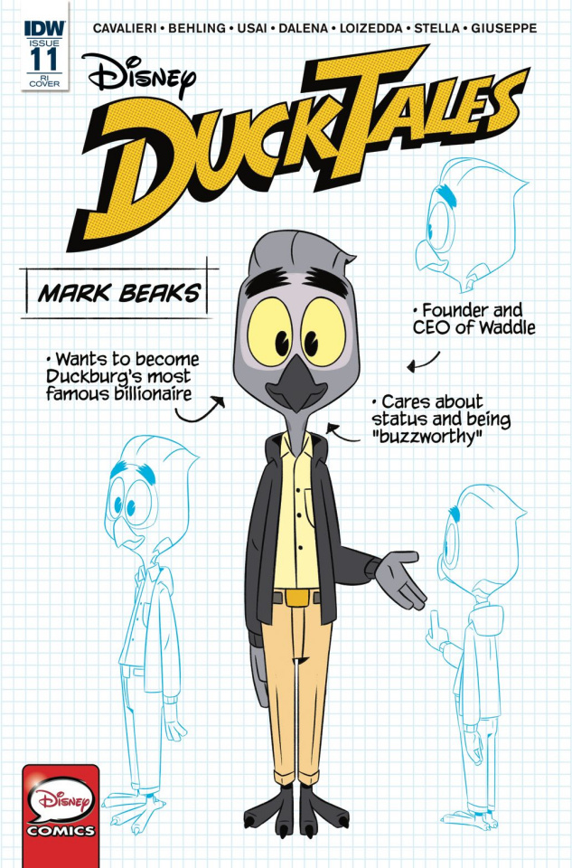 DuckTales #11 (10 Copy Cover)