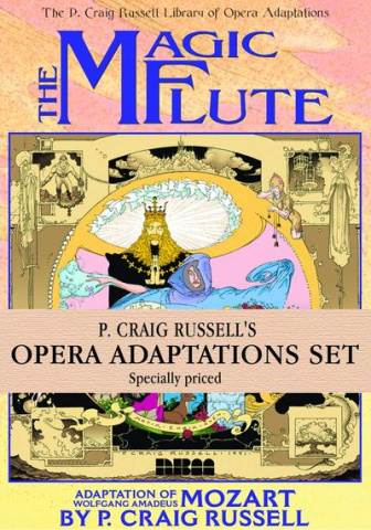 P. Craig Russell's Library of Opera Vol. 1-3