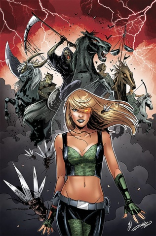 Grimm Fairy Tales: Robyn Hood #20 (Ingranata Cover)