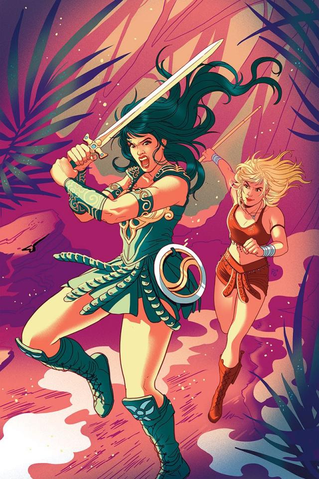 Xena: Warrior Princess #1 (40 Copy Ganucheau Virgin Cover)