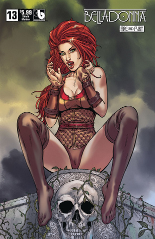 Belladonna: Fire and Fury #13 (Shield Maiden Cover)